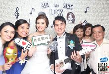 Lucas and Karen Musical Theme Wedding by TINY PHOTO LLP