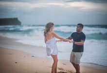 Wind Cannot Stop Us on Engagement Thiago and Jessica from Brazil by Mariyasa