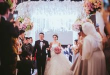 Romantic Wedding of David & Nerissa by Jennifer Natasha - Jepher