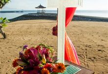 kayumanis nusa dua-beach wedding-fuschia theme by Kayumanis Private Villa and Spa
