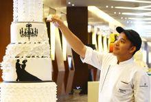 Romantic Wedding Cakes by Marriott Hotel Manila