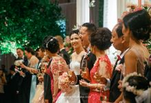 William & Tiya Wedding by Fairmont Jakarta
