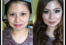 makeup trial with shine go by makeupbynievz