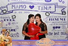The Wedding of Mamo and Tina by Happy Moment Photobooth