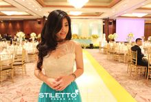 Wedding Steven & Lusia by STILETTO PAGAR AYU