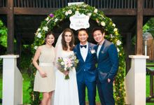Marta and Desmond Wedding Day Roving Roaming Photography at Regent Hotel Singapore Actual Day by The Explosive Booth