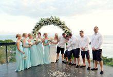 Matt and Jo Wedding by Anantara Seminyak Bali Resort