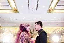 Kartika Chandra Wedding Mayya & Nadir by ARA photography & videography