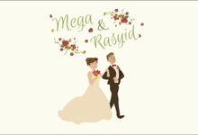 Mega & Rasyid Animated Wedding Invitation by Trinka Motion Klip