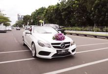 Wedding Yusuf & Cindy by sapphire wedding car