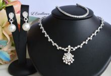 Wedding Day Jewellery Sets by L'Excellence Diamond
