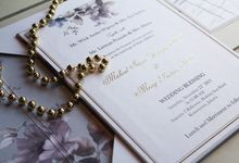Michael and Merry Wedding Invitation with Cactus Souvenir by Jolly's Little Dreams