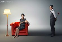 Mike & Calista Indoor Prewedding by Luxima Photography