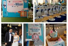 Themed Wedding - Travel by Secret Garden Lifestyle S/B