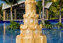 The Mulia Bali Wedding Cake by The Mulia, Mulia Resort & Villas - Nusa Dua, Bali