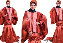 Wedding Dress Muslimah Etnic Terakota by Wedding Dress Muslimah Designer