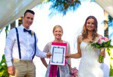 Weddings done by My Bali Celebrant by My Bali Celebrant