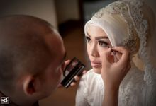 wedding Ivana & Ibnu by NET PHOTOGRAPHY