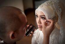 wedding Ivana & Ibnu by NET PHOTOGRAPHY