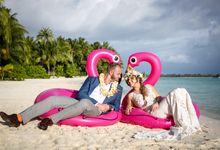 Bora Bora Wedding by JINZA Couture Bridal