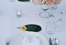 Alecia & Marc Wedding by Foraday Dream