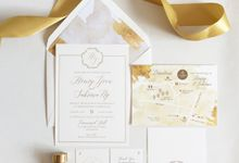 Romancing Gold by Nineteen Design Studio