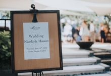 WEDDING NICOLA & HASSAN by Fairmont Sanur Beach Bali