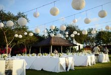 Elegant island wedding The Sky  Ayana Resort & Spa by Paradiso Weddings & Events