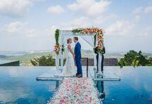 Clair & Francois wedding at Panacea Retreat Koh Samui by BLISS Events & Weddings Thailand