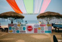 beach wedding by The Wedding Preneurs