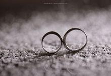 The Wedding of Wandy & Novia by Huemince