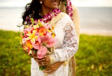 Colorful and Cultural Maui Wedding by Bliss Wedding Design & Spectacular Events