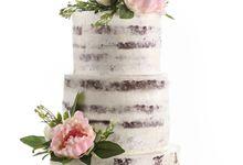Wedding cake by Bakerzin