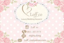 Loff_co Luxury wedding souvenir by Loff_co souvenir