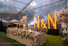 Rustic Wedding Decoration in Bali by Bali Izatta Wedding Planner & Wedding Florist Decorator