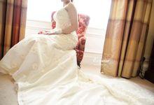 Nathalia & John Wedding in Edinburgh by Exquise Gowns