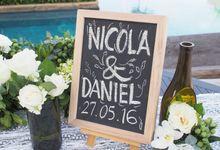 Classic Elegant - Nicola & Daniel by Puri Amanda Flower Boutique