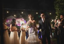 Nora & Andes Wedding by Hieros Photography