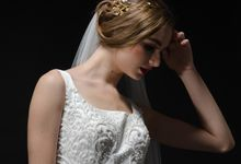 Bejeweled wedding gown by NUENCE
