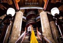 Pre Wedding of Ocha and Hans by Exquise Gowns