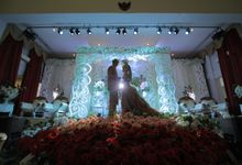 "Wedding Palembang ""Romantic Red"" by hmphotopedia"
