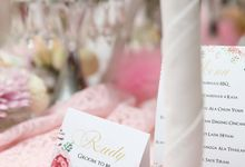 Engagement of Novi & Rudy by Apple Blooms Creation