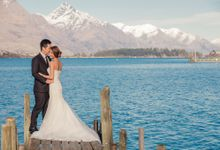 New Zealand pre wedding photography by Odelia Bridal