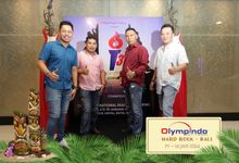 Photobooth for Olypindo Gathering at Hard Rock Hotel Bali by Happy Moment Photobooth
