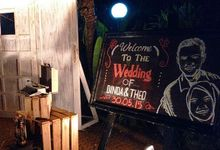 The Wedding Of Dinda & Theo by Kamandanu Decor