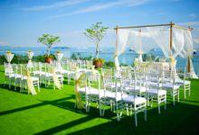 Wedding at iFly by OC Weddings