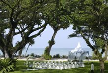 Wedding by the Beach by Shangri-La Rasa Sayang Resort