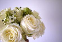 White Gold Wedding by Il Fiore
