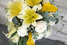 Wedding Bouquet by Orchid Florist