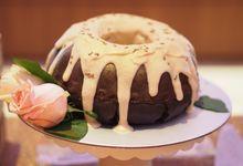 Lowell & Amanda - Wedding  Day dessert table by A Han Bakes